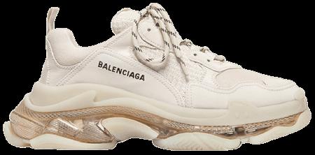 Cheap Balenciaga Triple S Trainer 'Clear Sole - Off White'