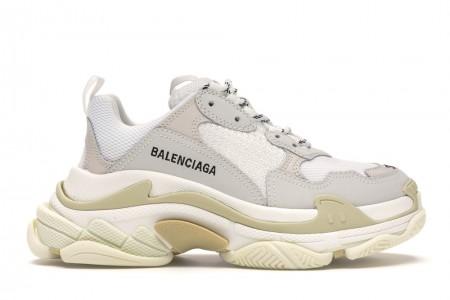Cheap Balenciaga Triple S White