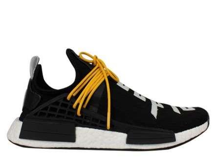 Cheap Fear of God X Adidas NMD Collaborate Human Race Boost Black Color Online