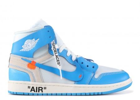 Cheap Air Jordan Shoes 1 X Off White University Blue for Sale