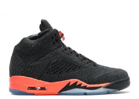 Cheap Air Jordan Shoes 5 Retro 3lab5 Black Infrared