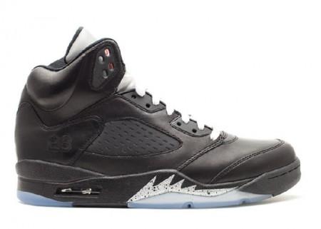 Cheap Air Jordan Shoes 5 Retro Premio Bin23 Black-Matallic