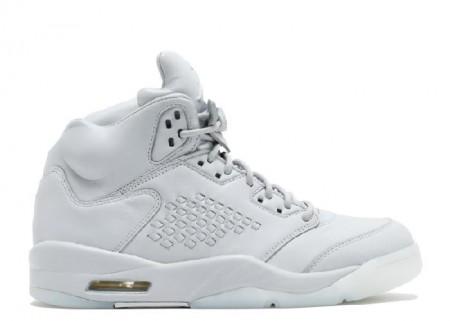 Cheap Air Jordan Shoes 5 Retro Prem Pure Platinum