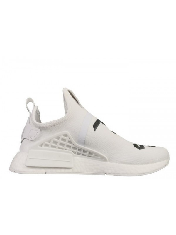 Cheap Fear of God X Adidas NMD Collaborate Human Race Boost White Color Hot Selling Now