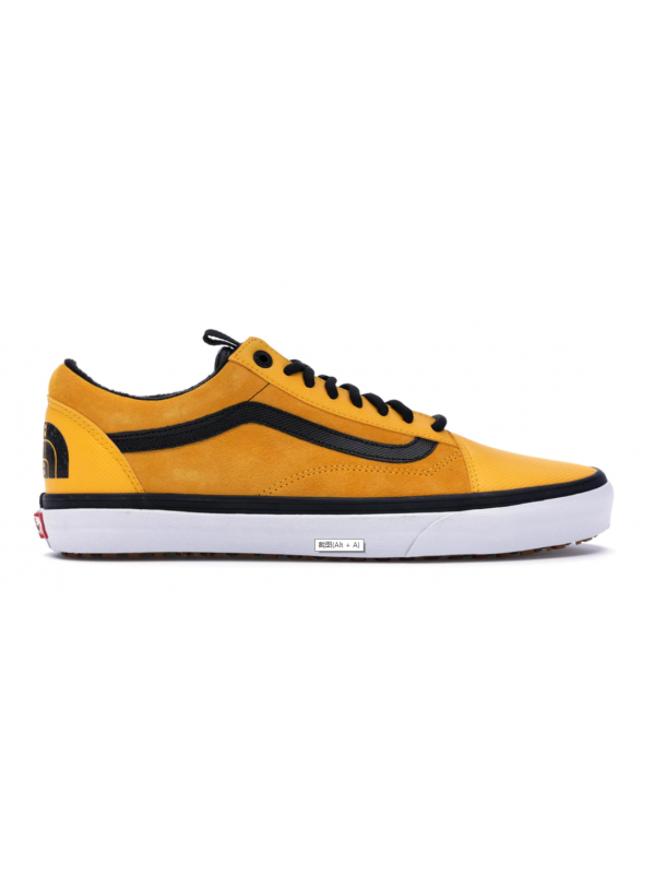 Cheap Vans Old Skool MTE DX The North Face Yellow