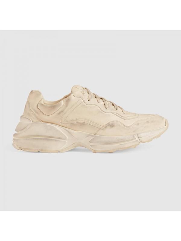 Cheap Gucci Rhyton leather sneaker Online