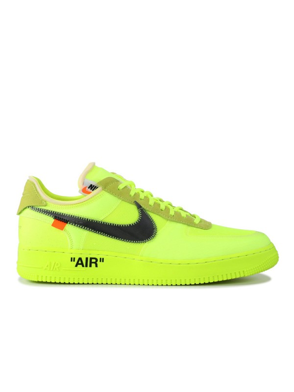 Cheap Nike Air Force 1 Low Off-White Volt