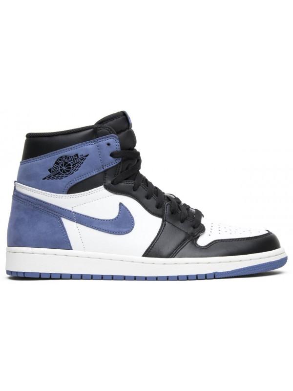 Cheap Air Jordan Shoes 1 Retro High Blue Moon