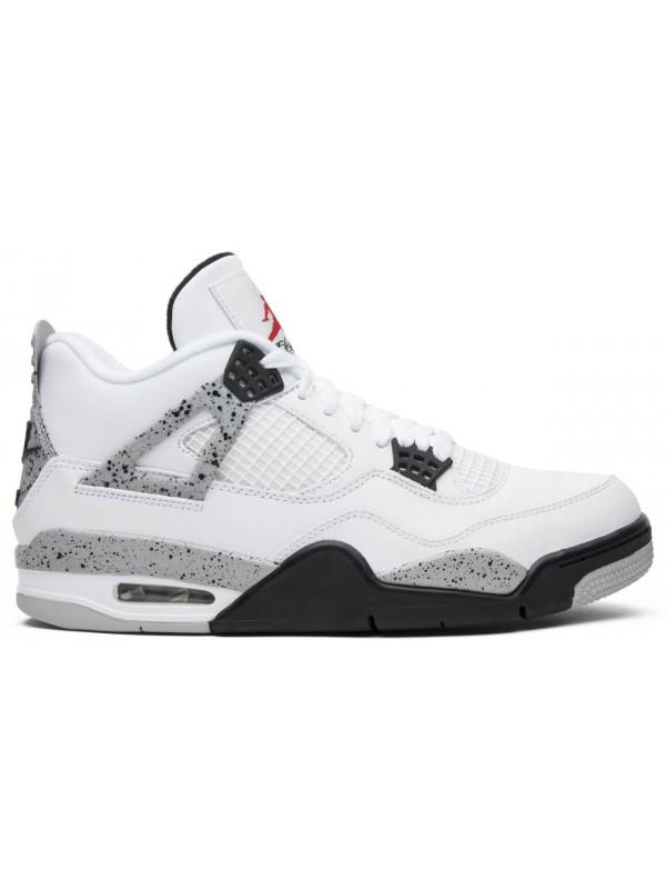 Cheap Air Jordan Shoes 4 Retro White Cement (2016)