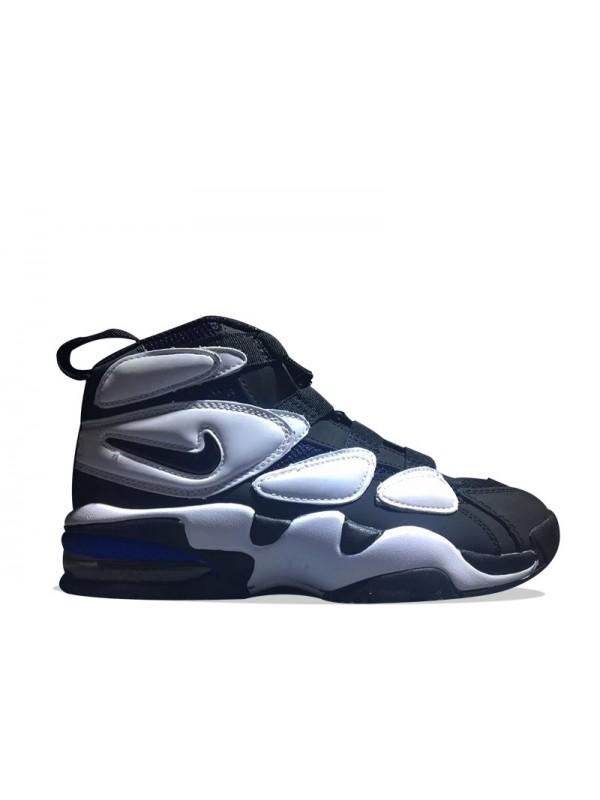 Cheap Nike Air Max 2 Uptempo QS Black White Blue for Sale