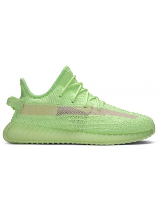 Cheap Adidas Fake Yeezy Boost 350 V2 GID 'Glow' (Toddlers And Youth)