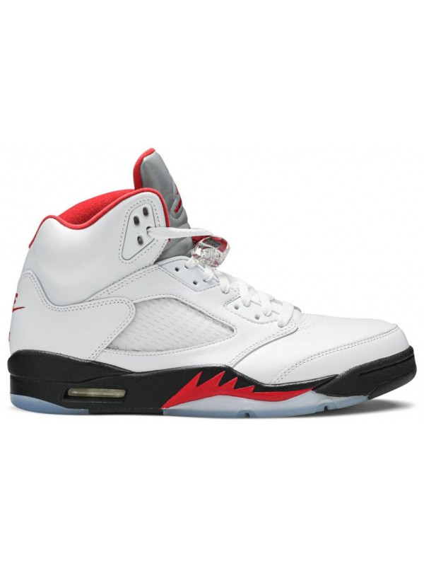Cheap Air Jordan Shoes 5 Retro Fire Red Silver Tongue (2020)