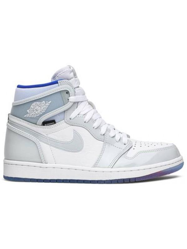 Cheap Air Jordan Shoes 1 High Zoom Racer Blue