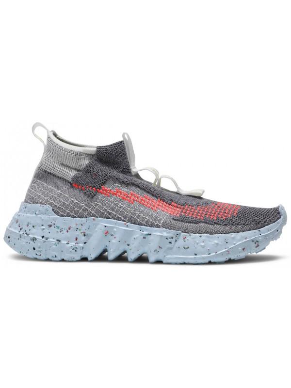 Cheap Nike Space Hippie 02 Vast Grey Hyper Crimson