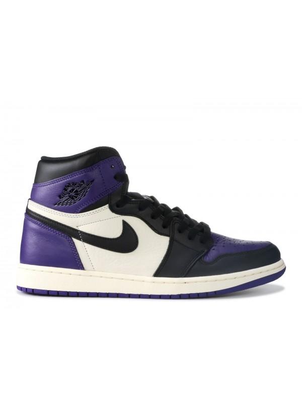 Cheap Air Jordan Shoes 1 RETRO HIGH COURT PURPLE