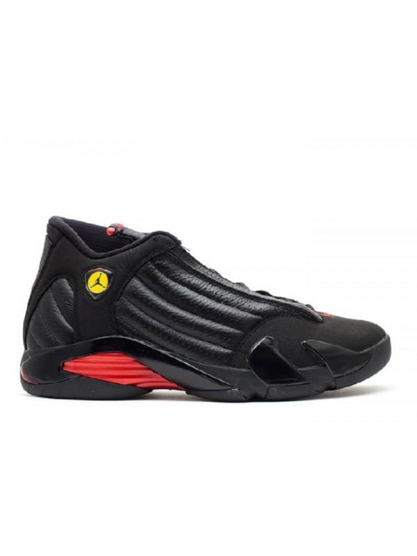Cheap Air Jordan Shoes 14 Retro Last Shot 2011 Release Black Varsity Red