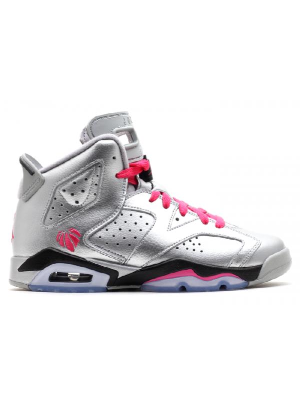 Cheap Air Jordan Shoes 6 Retro Gg (Gs) Valentines Day