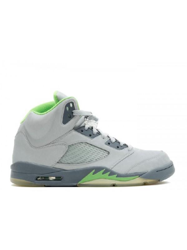 Cheap Air Jordan Shoes 5 Retro Green Bean