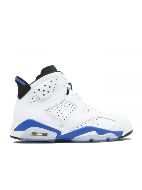 Cheap Air Jordan Shoes 6 Retro Sport Blue