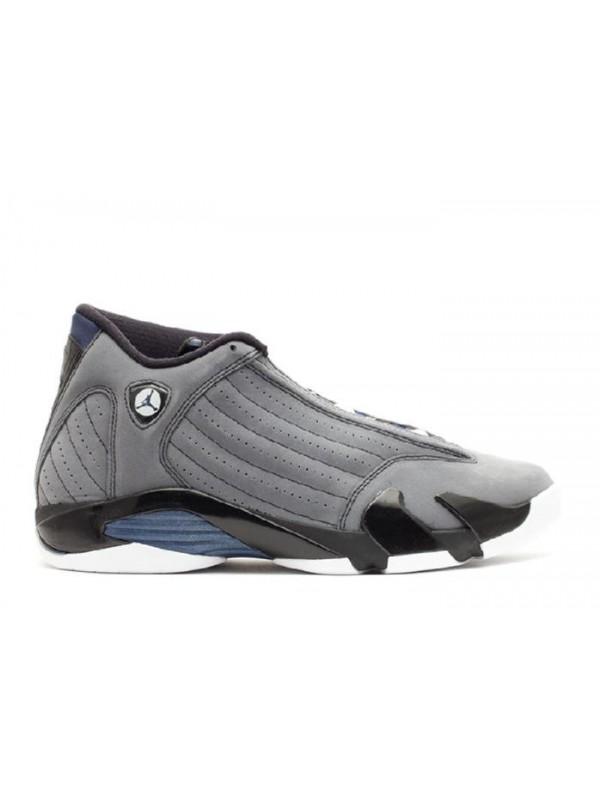 Cheap Air Jordan Shoes 14 Retro Graphite Mid Navy Black White