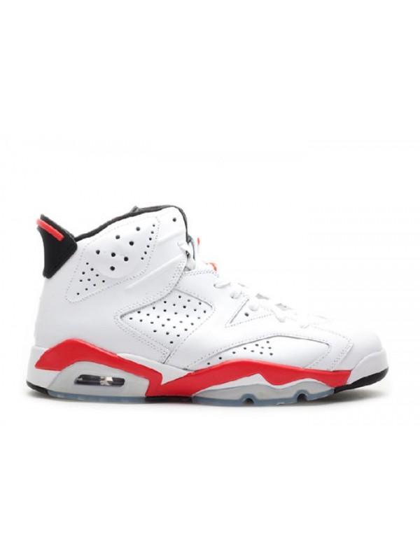 Cheap Air Jordan Shoes 6 Retro Infrared Pack White Red