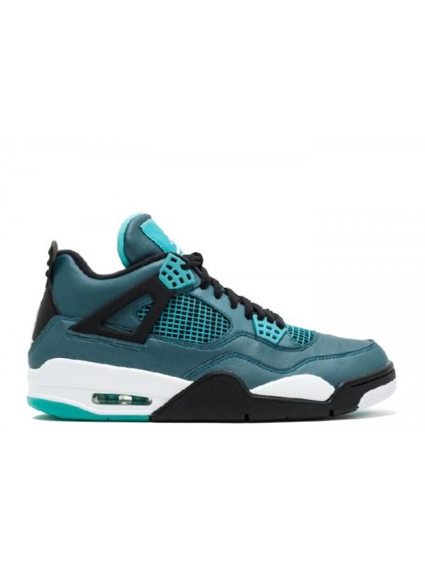 Cheap Air Jordan Shoes 4 Retro 30Th Teal White Black