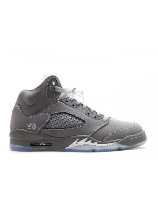Cheap Air Jordan Shoes 5 Retro (Gs) Wolf Grey