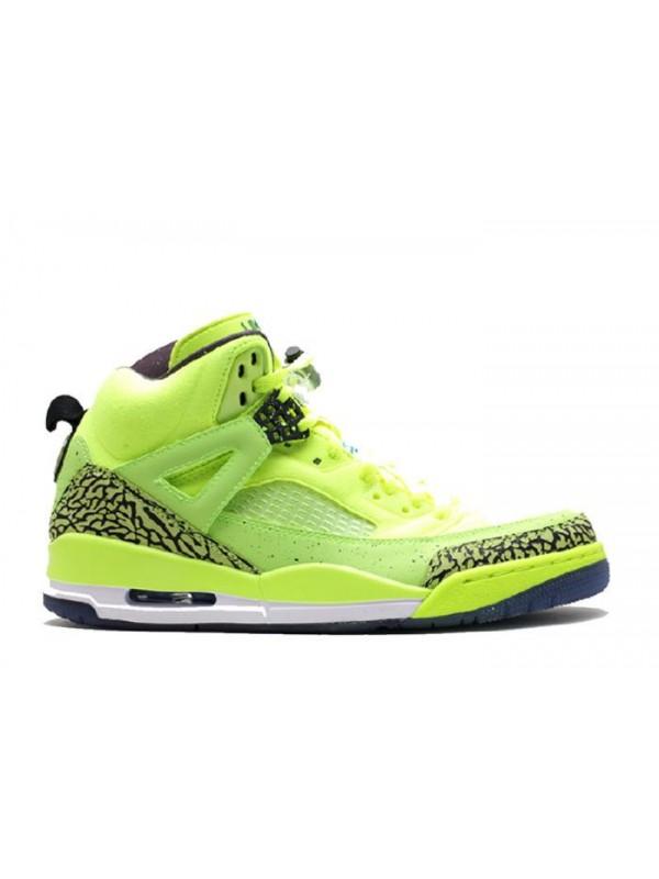 Cheap Air Jordan Shoes Spiz'lke BHM Volt Black Photo Blue