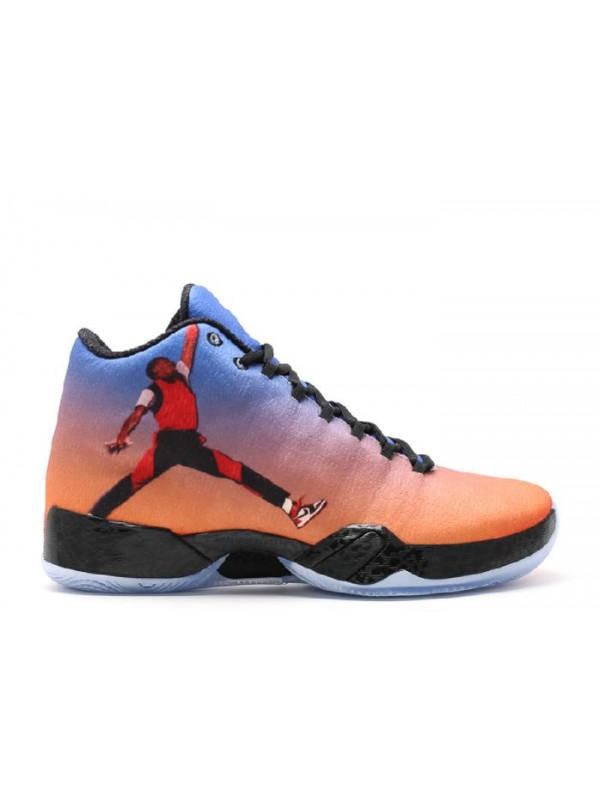 Cheap Air Jordan Shoes 29 Photo Reel Team Orange Gym Black