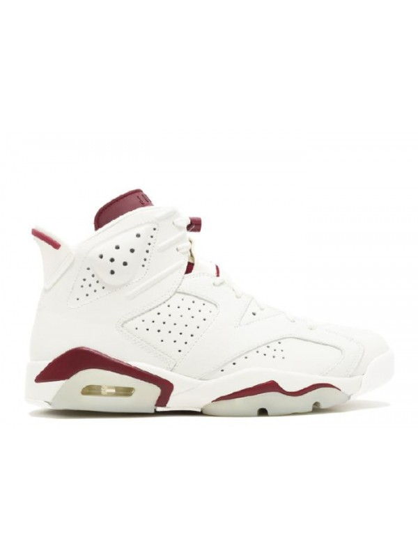 Cheap Air Jordan Shoes 6 Retro Maroon
