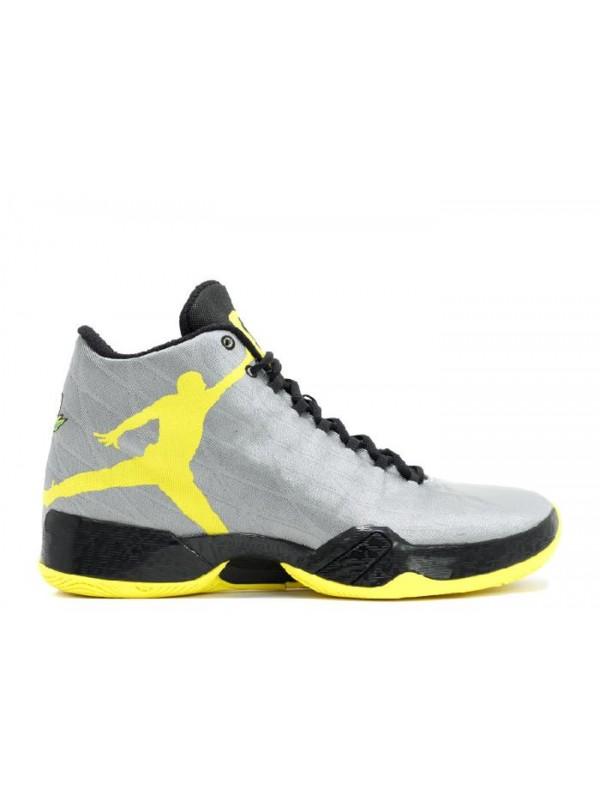 Cheap Air Jordan Shoes 29 PE Oregon Ducks Silver Yellow Black