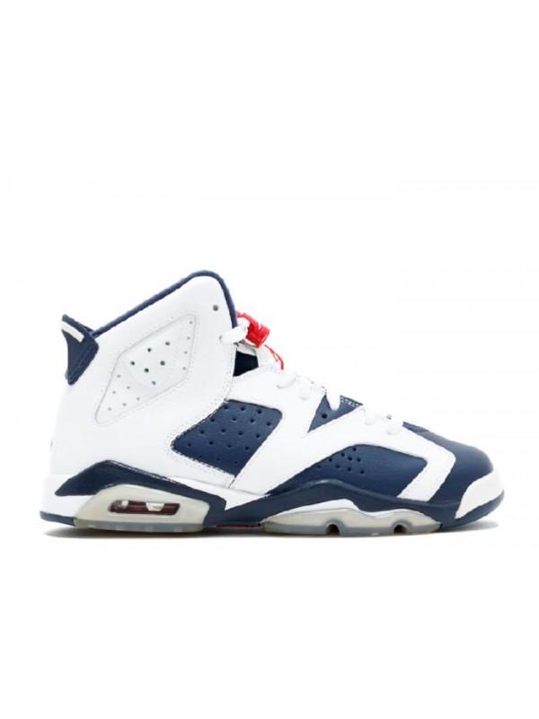 Cheap Air Jordan Shoes 6 Retro (Gs) Olympic 2012 Release