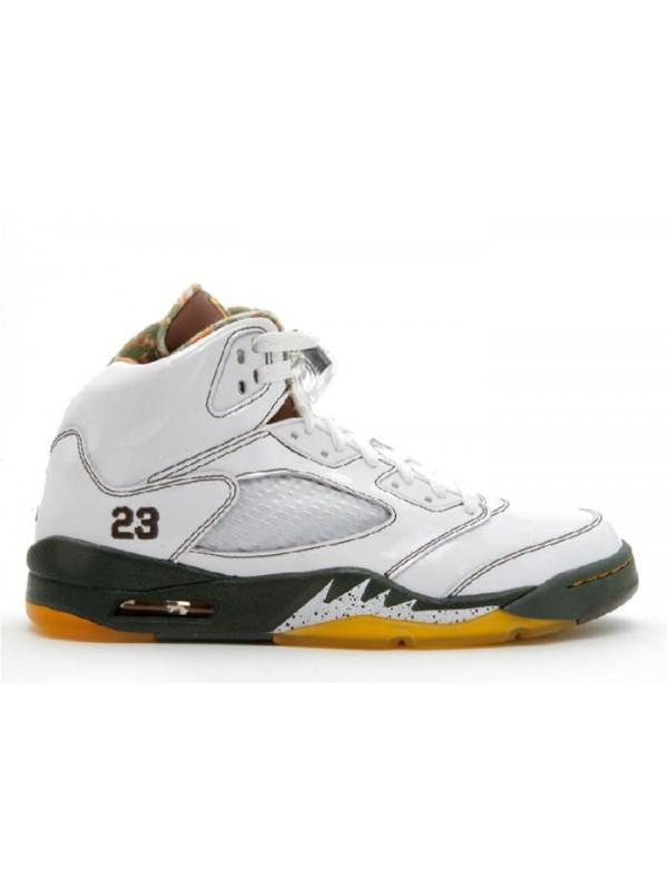 Cheap Air Jordan Shoes 5 Retro White Cinder Dark