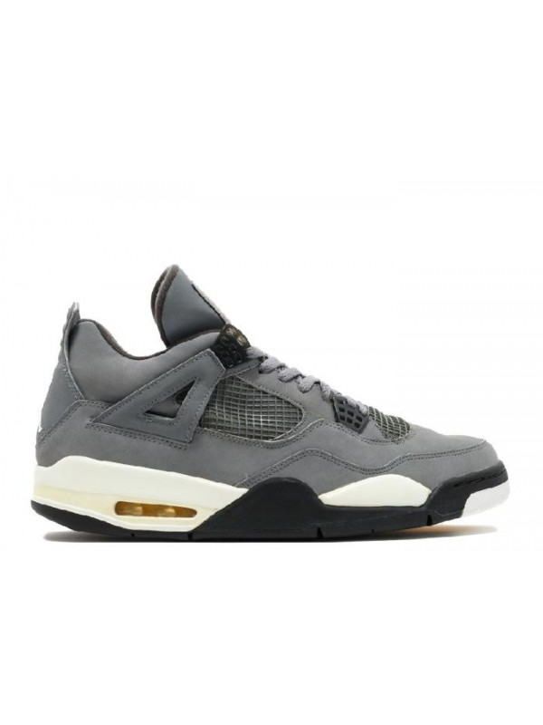 Cheap Air Jordan Shoes 4 Retro Cool Grey Dark Charcoal Varsity Maize