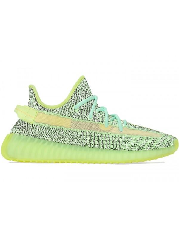 Cheap Adidas Fake Yeezy Boost 350 V2 Yeezreel (Reflective)