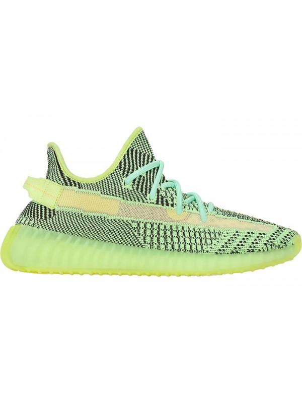 "Cheap Adidas Fake Yeezy Boost 350 V2 ""Yeezreel"" Non-Reflective"