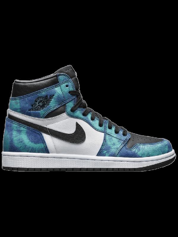 Cheap Air Jordan Shoes 1 Retro High Tie Dye