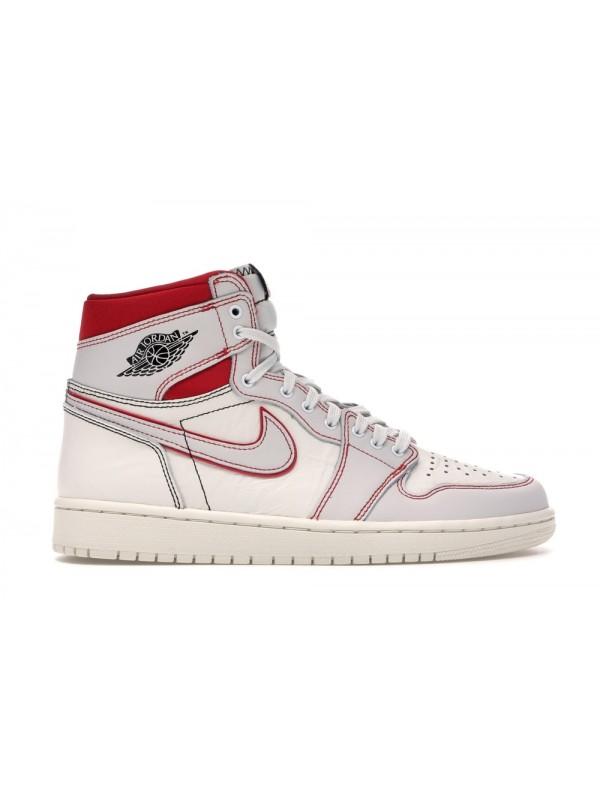 Cheap Air Jordan Shoes 1 Retro High Phantom Gym Red