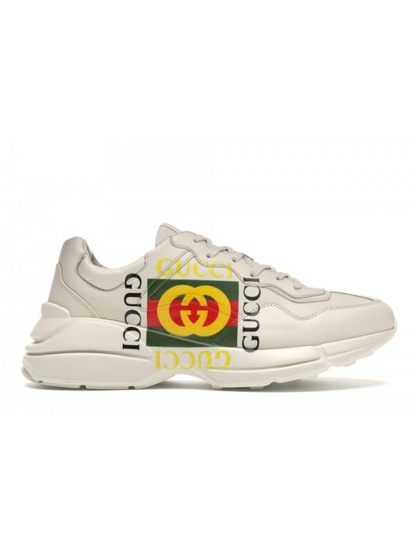 Cheap Gucci Rhyton Logo Ivory