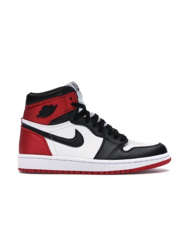 Cheap Air Jordan Shoes 1 Retro High Satin Black Toe