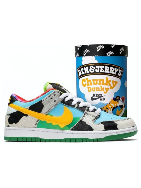 Cheap Nike SB Dunk Low Ben & Jerry's Chunky Dunky (F&F Packaging)