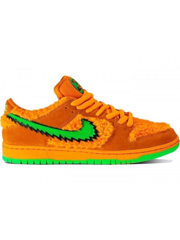 Cheap Nike SB Dunk Low Grateful Dead Bears Orange
