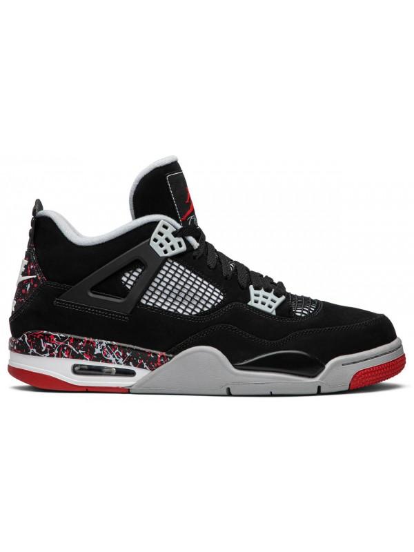 Cheap Air Jordan Shoes 4 Retro X OVO 'Splatter'
