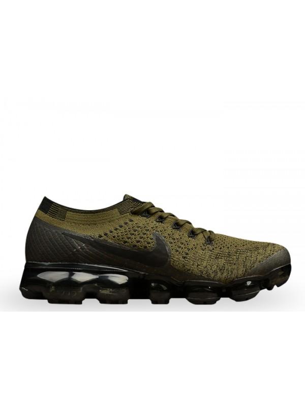 Cheap Nike Air Vapormax Flyknit Cargo Khaki Black-Medium Olive Shoes