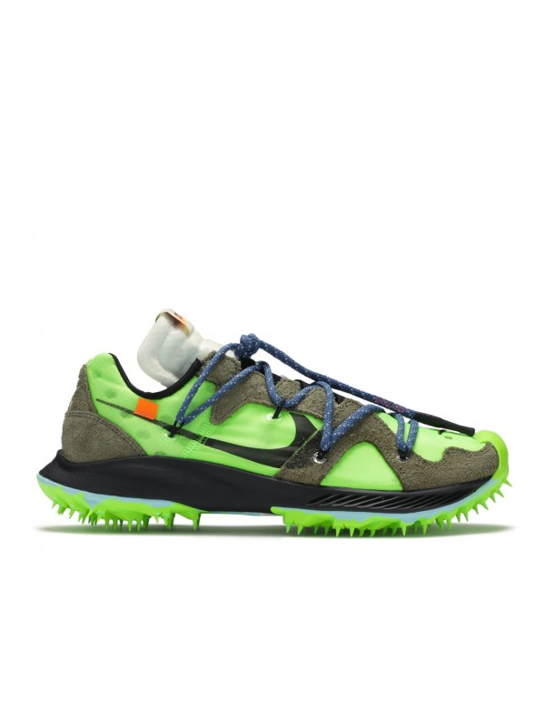 Cheap Nike Zoom Terra Kiger 5 Off-White Electric Green