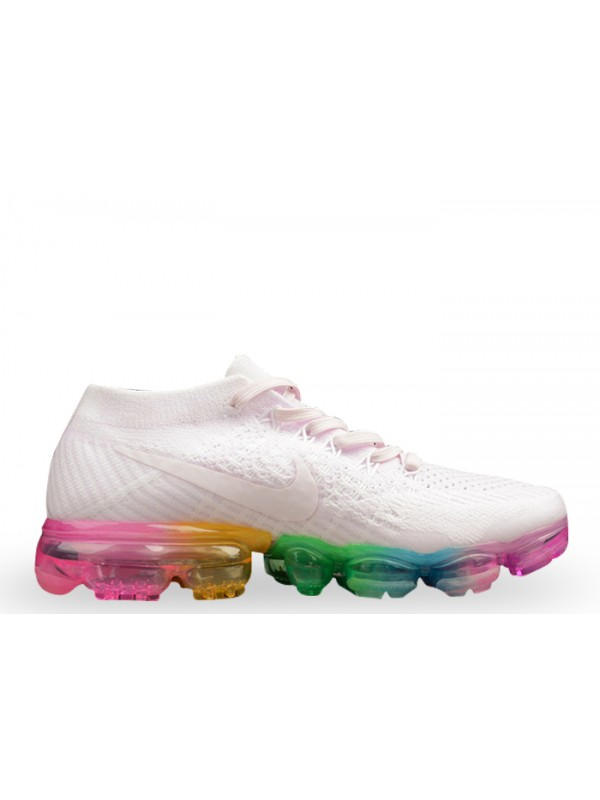 Hot Sale Cheap Nike Air Vapormax Flyknit White Concord Shoes