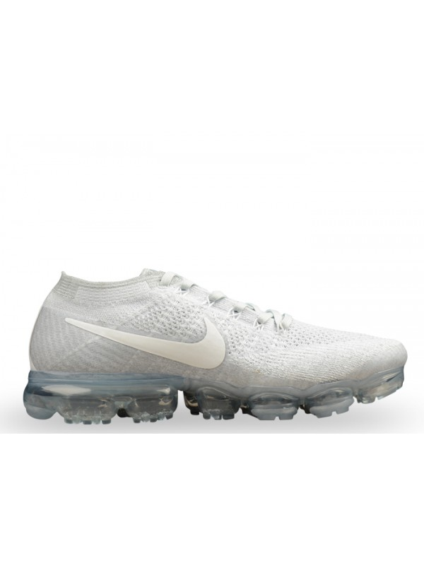 Cheap Nike Air Vapormax Flyknit Pure Platinum for Sale
