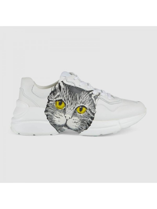 Cheap Gucci Rhyton sneaker with Mystic Cat Online