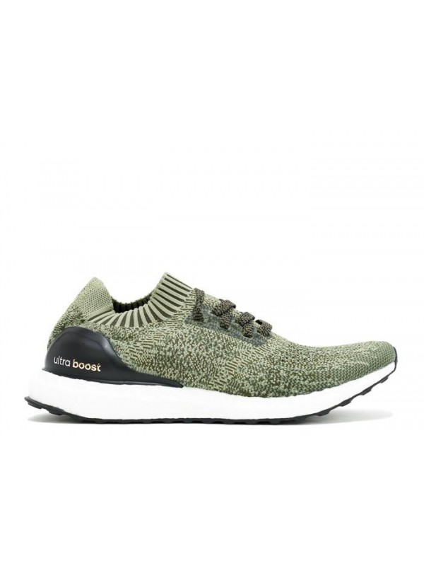 Cheap Ultra Boost Uncaged Olive Black White