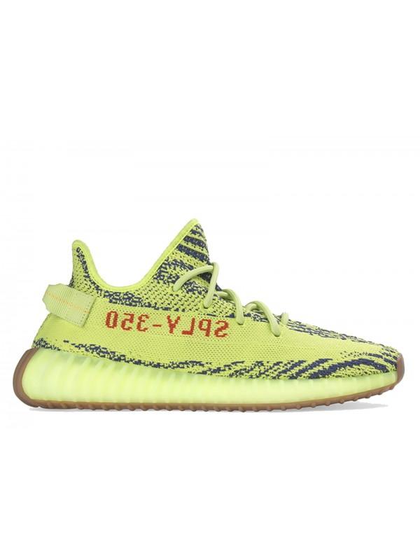 "Cheap II Adidas Boost 350 v2 ""Semi-frozen Yellow"" 2017 Shoes Online"